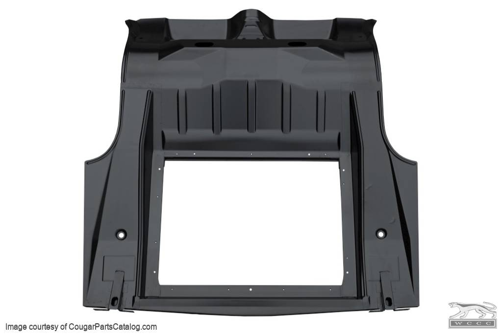 Trunk Pan Complete For 1967 Mercury Cougar 1968 Mercury Cougar At West Coast Classic Cougar The Definitive 1967 1973 Mercury Cougar Parts Source