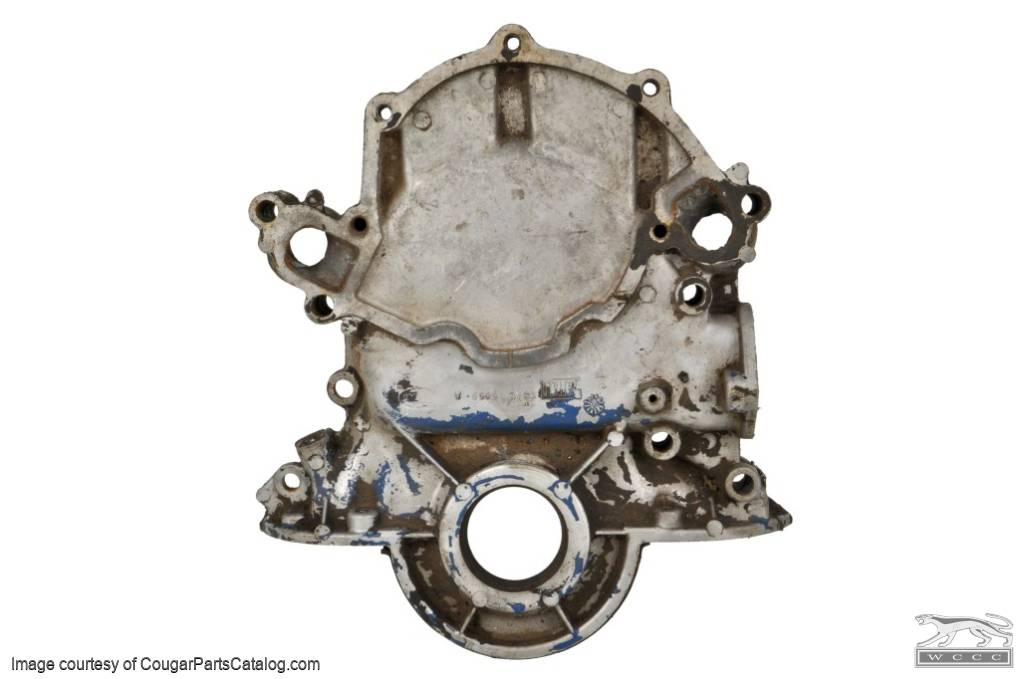 Ford Timing Chain Cover : Timing chain cover used mercury