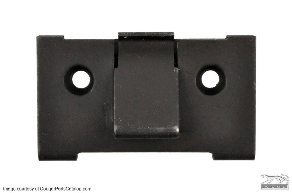 Glove Box Catch - Repro ~ 1967 - 1968 Mercury Cougar / 1966 - 1968 Ford Mustang - 12995