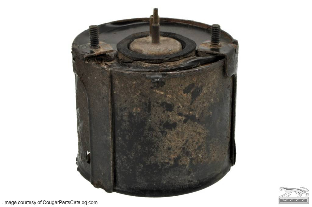 A/C Vacuum Canister - Grade B - Non-Functional - Used ~ 1967 - 1970 Mercury Cougar / 1967 - 1970 Ford Mustang - 11-0447