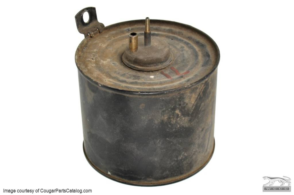 A/C Vacuum Canister - Used ~ 1971 - 1973 Mercury Cougar / 1971 - 1973 Ford Mustang - 13669