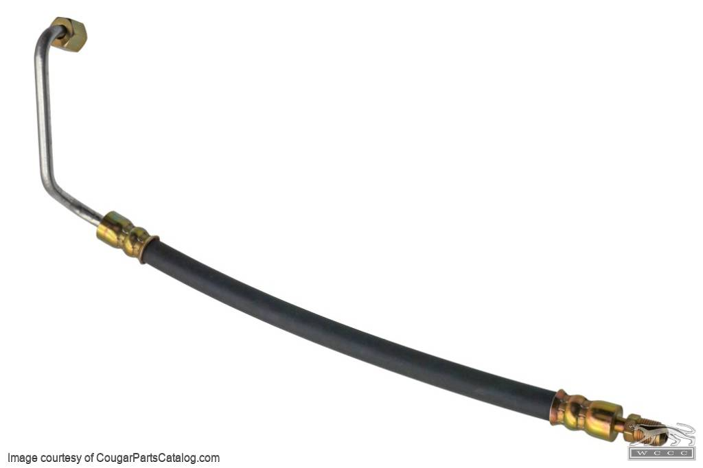 Upper High Pressure Hose 351W Concours - Repro ~ 1969 Mercury Cougar - 1969 Ford Mustang - 13724