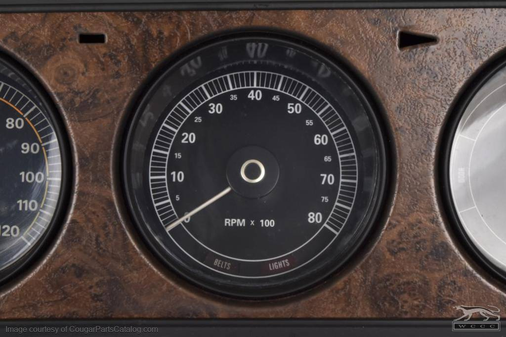 Tachometer - XR7 & Eliminator 8000 RPM - New ~ 1970 Mercury Cougar - 13772