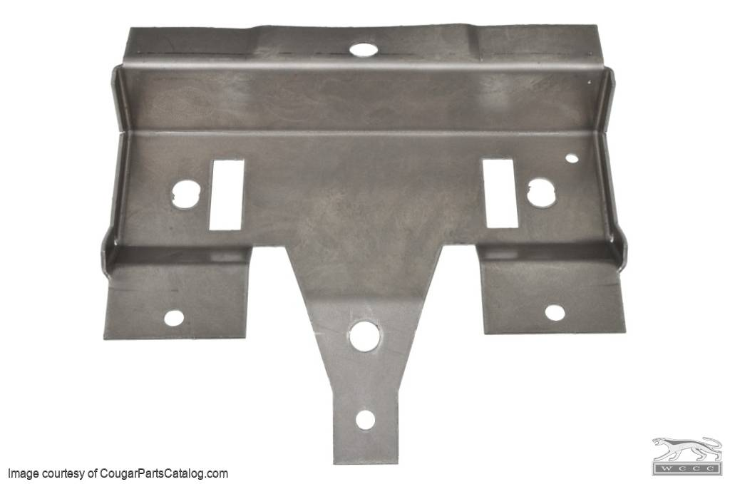 Overhead Console - Front Bracket - Repro ~ 1967 - 1968 Mercury Cougar - 1967 - 1968 Ford Mustang - 13795