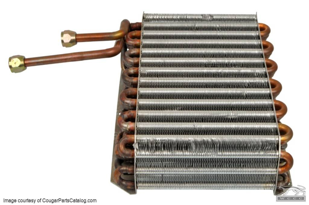 A/C Evaporator - Repro ~ 1969 Early Mercury Cougar / Ford Mustang - 13832