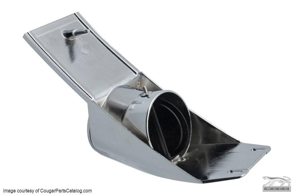 A/C Vent Register - Passenger Side - Repro ~ 1967 - 1968 Ford Mustang / 1967 - 1968 Shelby - 13842