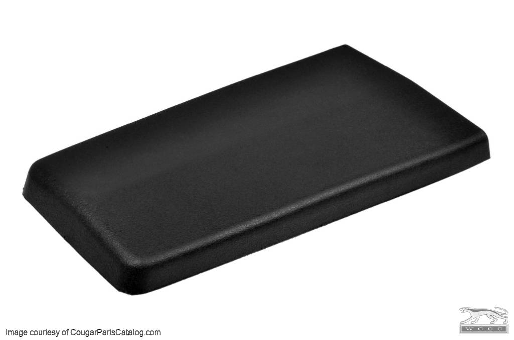 Armrest Pad - Center Console - Flat Lid - Standard - PREMIUM - Repro ~ 1969 - 1970 Mercury Cougar / 1969 - 1970 Ford Mustang - 13984