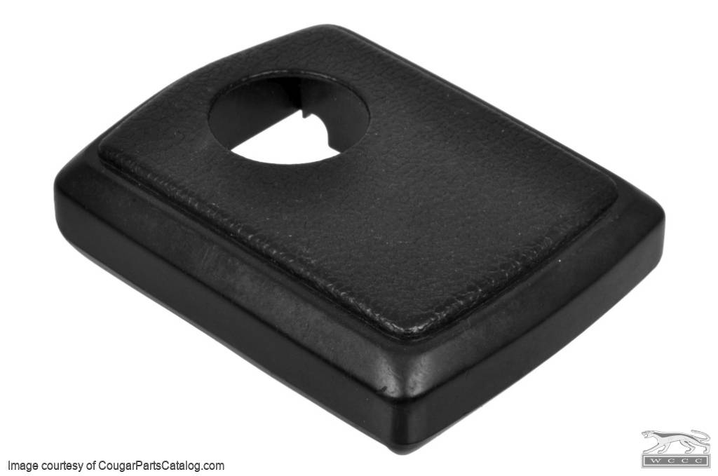Plastic Seat Belt Buckle Cover - Complete One Piece - Used ~ 1968 - 1972 Mercury Cougar / 1968 - 1972 Ford Mustang - 14-0000