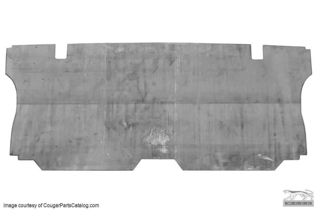 Divider - Rear Seat to Trunk - METAL - New ~ 1967 - 1968 Mercury Cougar - 14-0004