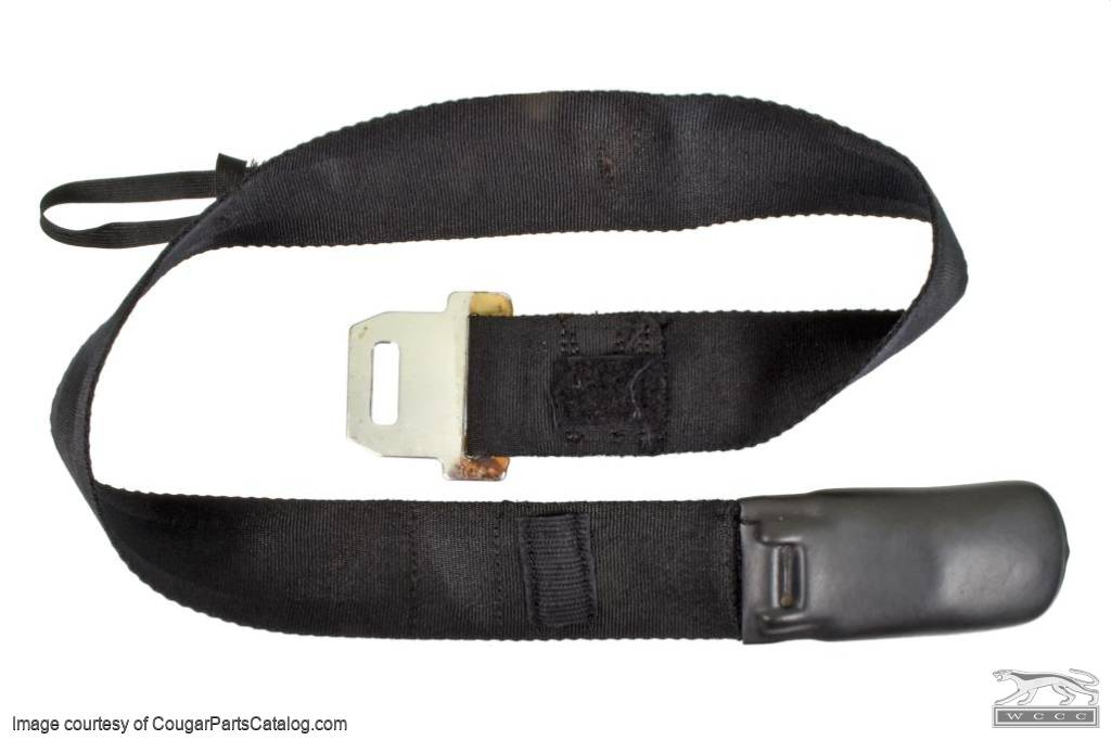Seat Belt - Shoulder - Used ~ 1969 Mercury Cougar / 1969 Ford Mustang - 14-1016