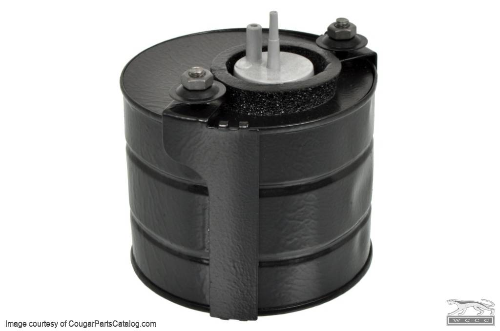 A/C Vacuum Canister - Repro ~ 1967 - 1970 Mercury Cougar / 1967 - 1970 Ford Mustang - 14037