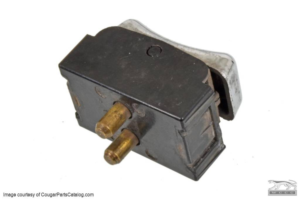 Lock-Out Switch - Power Window - Used ~ 1969 - 1972 Mercury Cougar - 14142