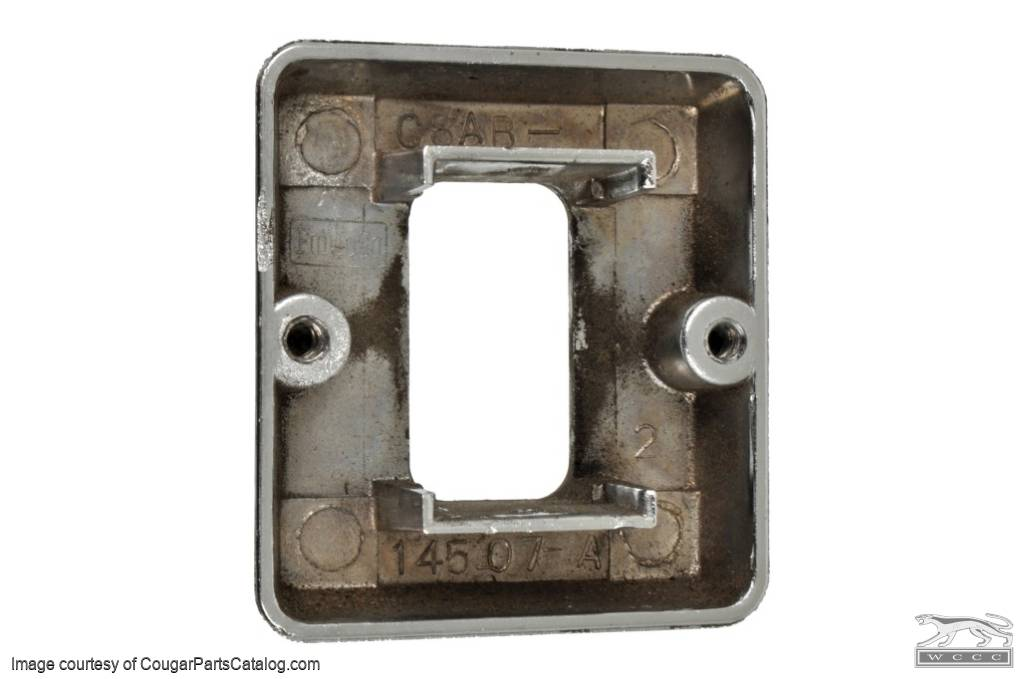 Bezel - Power Window Switch - Grade A - Used ~ 1969 - 1970 Mercury Cougar - 14154