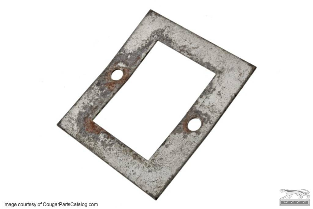Mounting Plate - Power Window Switch - Used ~ 1969 - 1970 Mercury Cougar - 14157