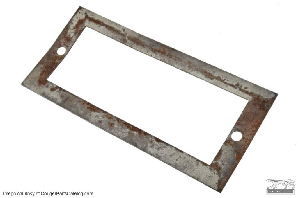 Mounting Plate - Power Window Master Switch - Used ~ 1969 - 1970 Mercury Cougar - 14158