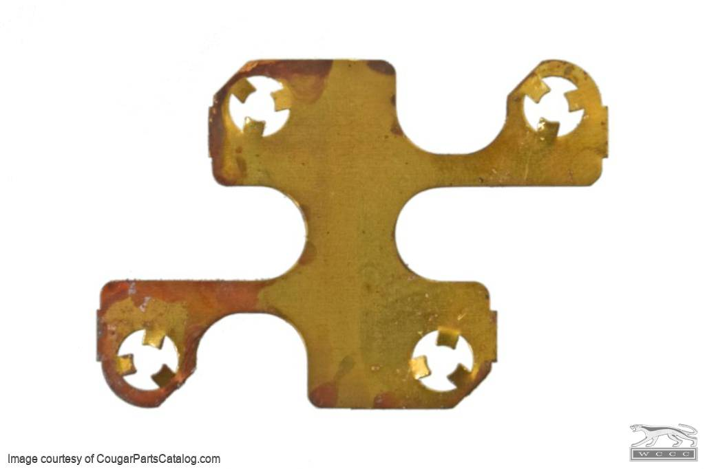 Contact Mate Plate - Power Window Door Switch - Used ~ 1969 - 1972 Mercury Cougar - 14161