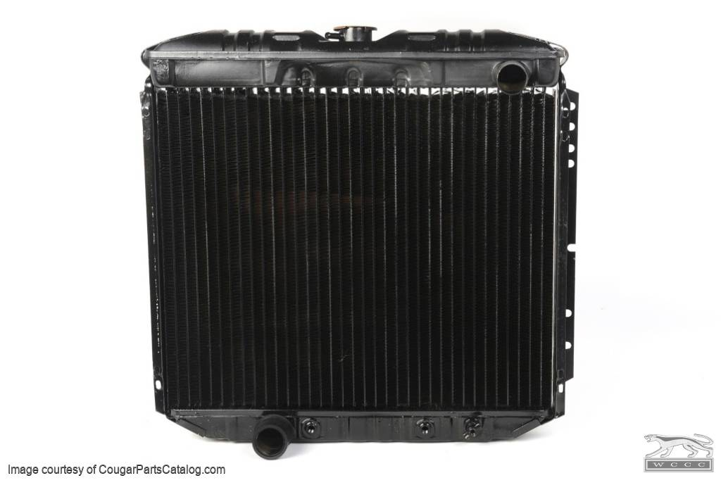 Radiator - 3 Core - 20 Inch - 351W / 351C - Repro ~ 1970 Mercury Cougar / 1970 Ford Mustang - 14721
