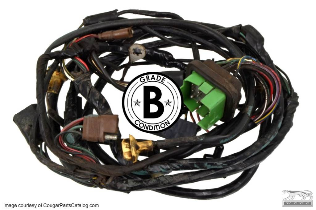 used ford wiring harness wiring diagram Ford F100 Wiring Harness