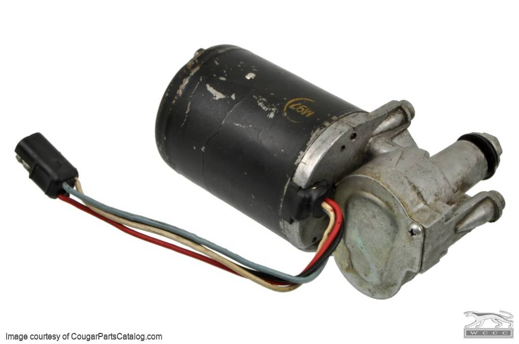 Windshield Wiper - Motor - 2 Speed - Used ~ 1967 - 1968 Mercury Cougar / 1967 - 1968 Ford Mustang - 15696