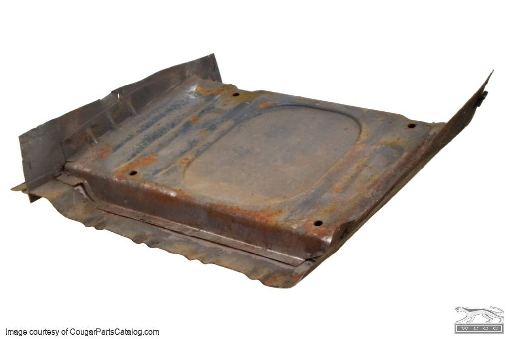 Seat Platform - Driver Side - Used ~ 1967 - 1968 Mercury Cougar - 15848