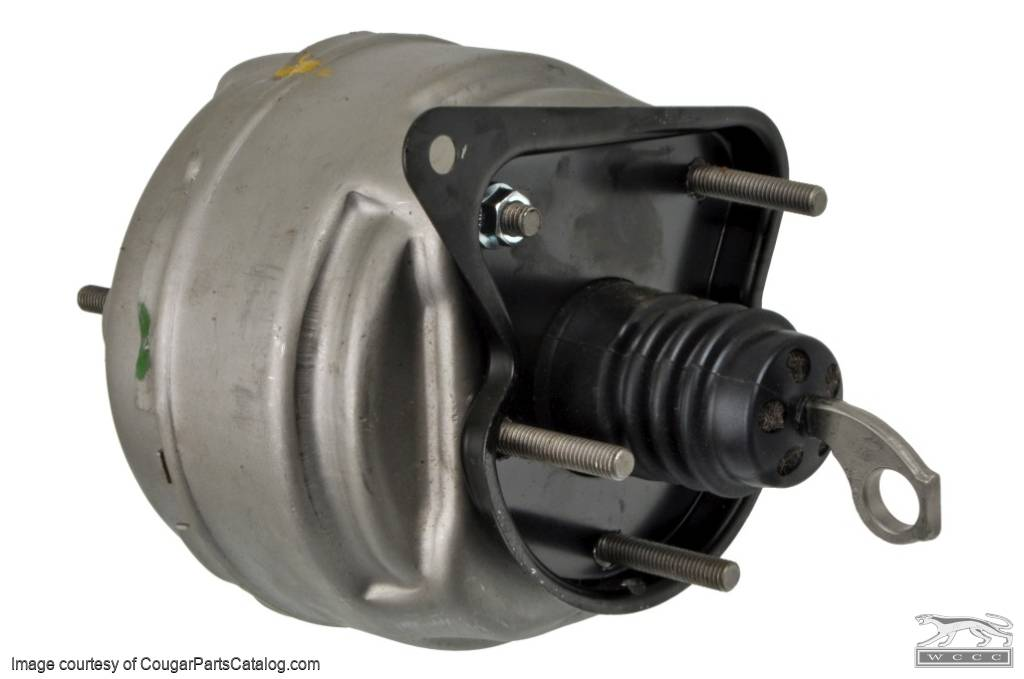 Brake Booster - Bendix - ECONOMY - Rebuilt - PRE-PAY CORE CHARGE ~ 1967 - 1969 Mercury Cougar / 1967 - 1969 Ford Mustang - 15863
