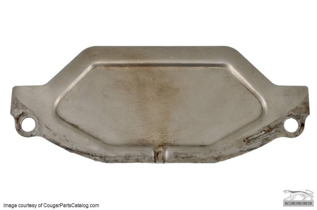 Inspection Cover - Automatic Transmission - C-6 - Small Block - Used ~ 1971 - 1973 Mercury Cougar / Ford Mustang - 16-0053