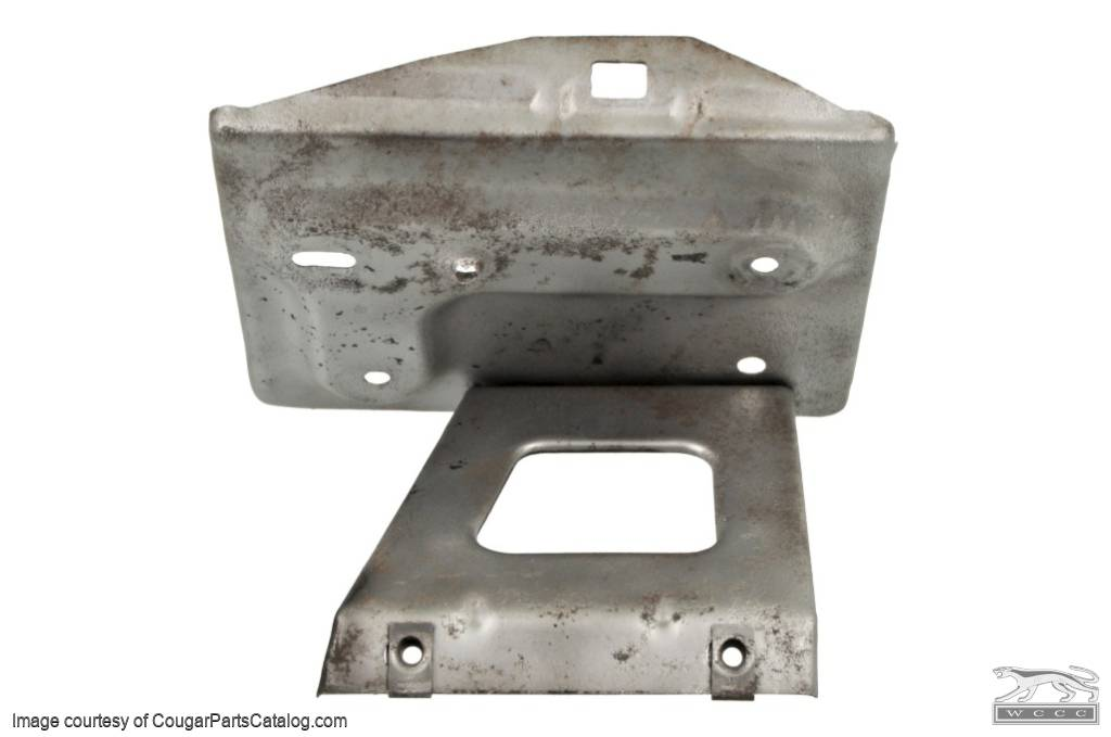 Battery Tray - Group 22 - Used ~ 1967 - 1968 Mercury Cougar / 1967 - 1968 Ford Mustang - 16002