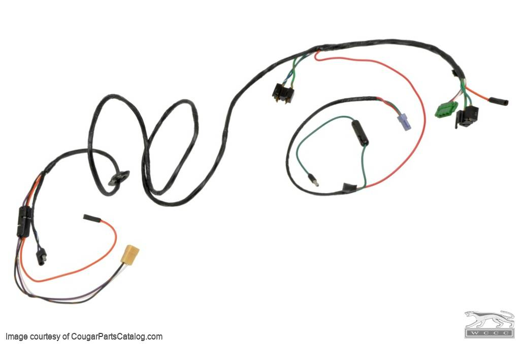 wiring harness - speed control - repro