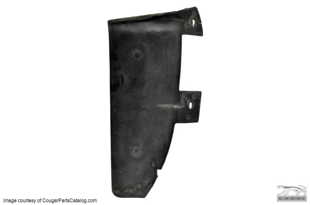 Filler - Hood To Grille - Passenger Side Only - Used ~ 1970 Mercury Cougar - 16757