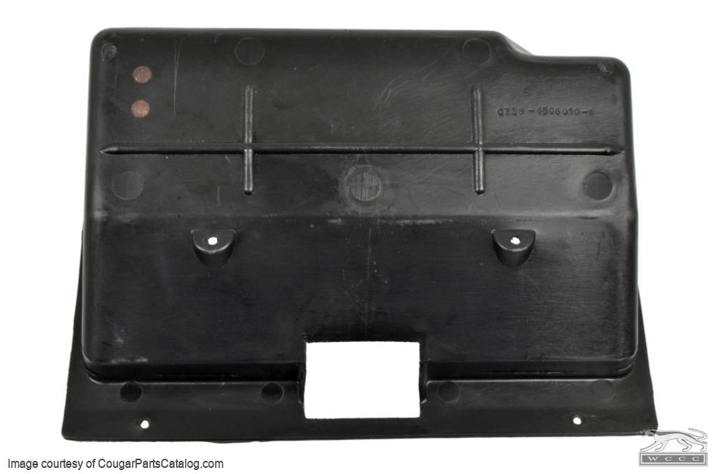 Glove Box Liner - Used ~ 1967 Mercury Cougar / 1967 Ford Mustang - 17778
