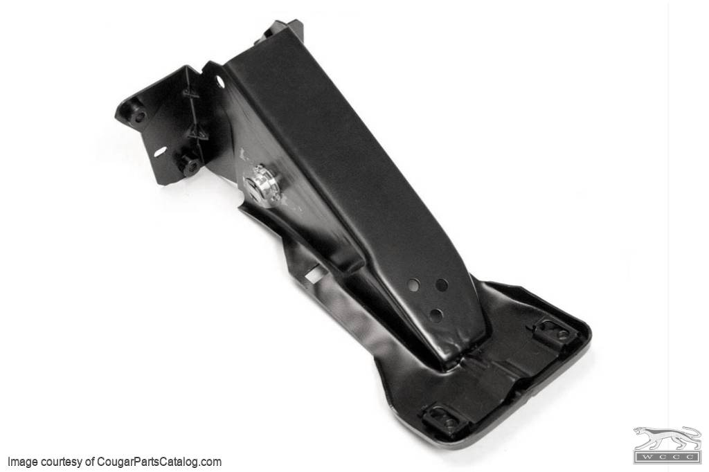 Support Bracket - Brake Pedal - Manual Drums - Repro ~ 1967 - 1968 Mercury Cougar / 1967 - 1968 Ford Mustang - 19021