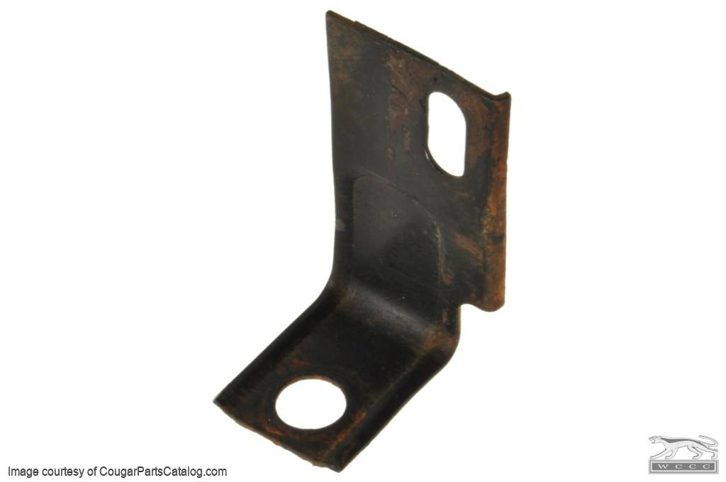 Rear Lower Fender Brace - Driver Side - Used ~ 1967 - 1970 Mercury Cougar / 1967 - 1970 Ford Mustang - 19124