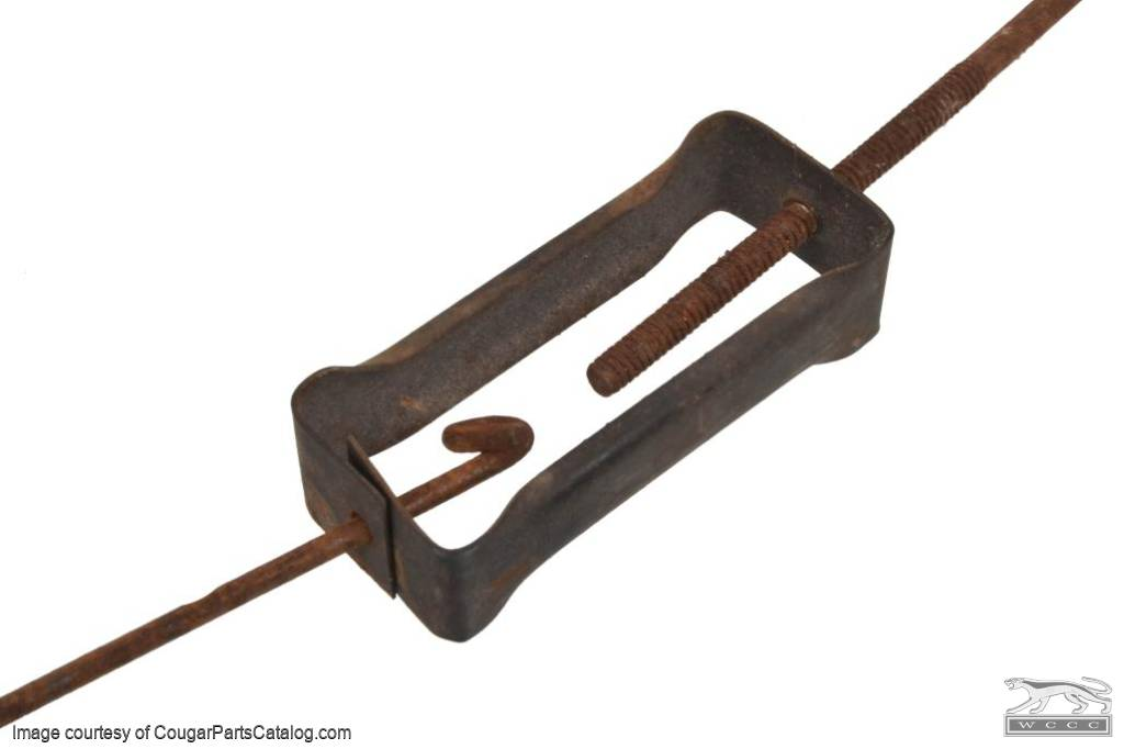 Seat Track - Bucket Seat - Linkage - Used ~ 1967 - 1970 Mercury Cougar / 1965 - 1970 Ford Mustang - 19164