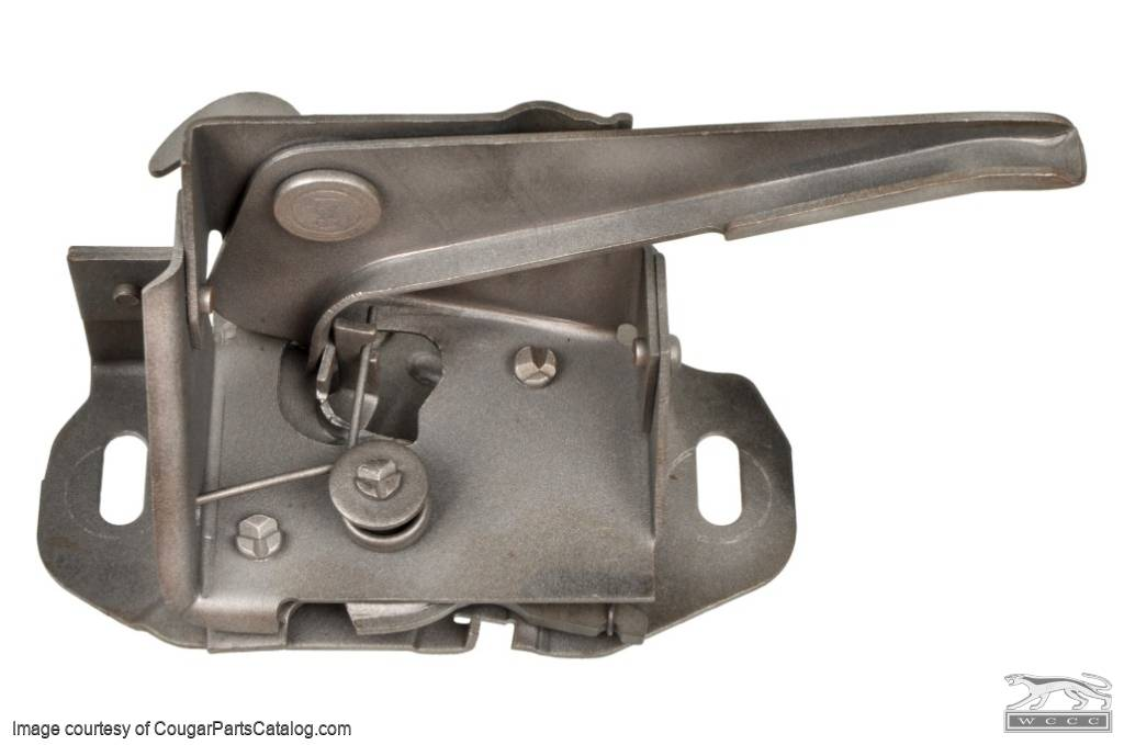 Hood Latch - Late - Used ~ 1969 Mercury Cougar - 19262