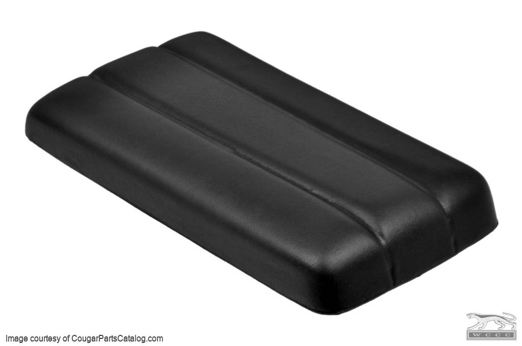 Armrest Pad - Center Console - Three Hump - XR7 - Repro ~ 1969 - 1970 Mercury Cougar / 1969 - 1970 Ford Mustang / Shelby - 19940