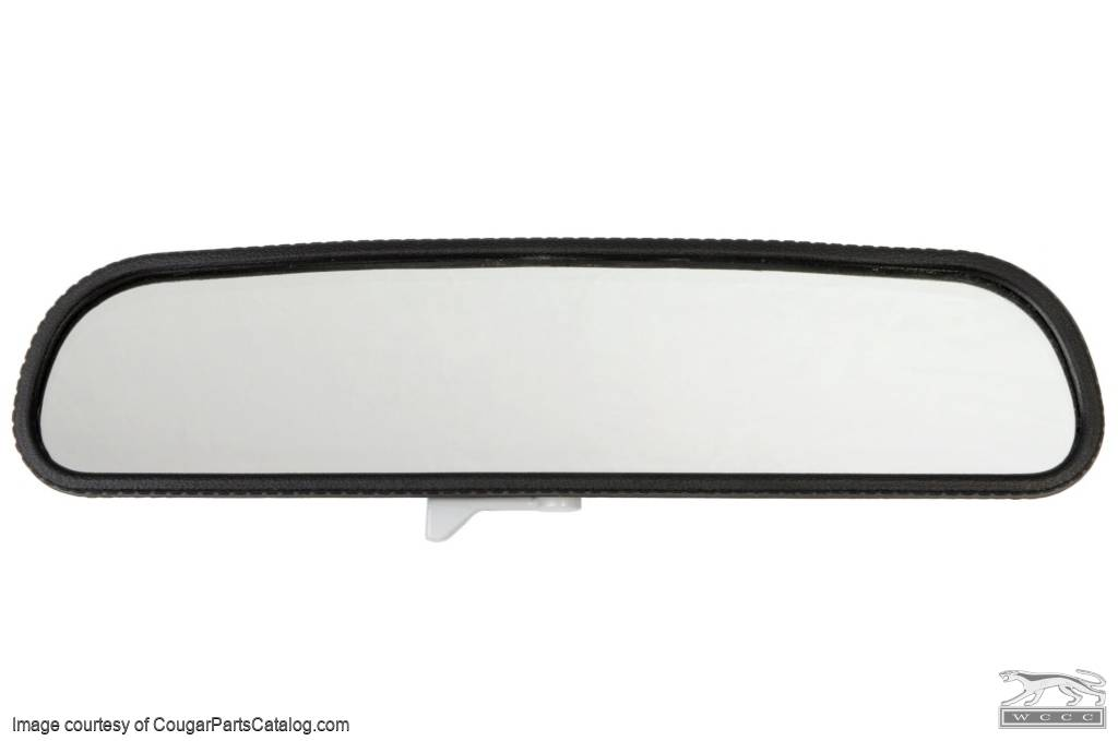 Rear View Mirror Assembly - Interior - TWIST STYLE - Repro ~ 1968 - 1969 Mercury Cougar / 1968 - 1969 Ford Mustang - 13798