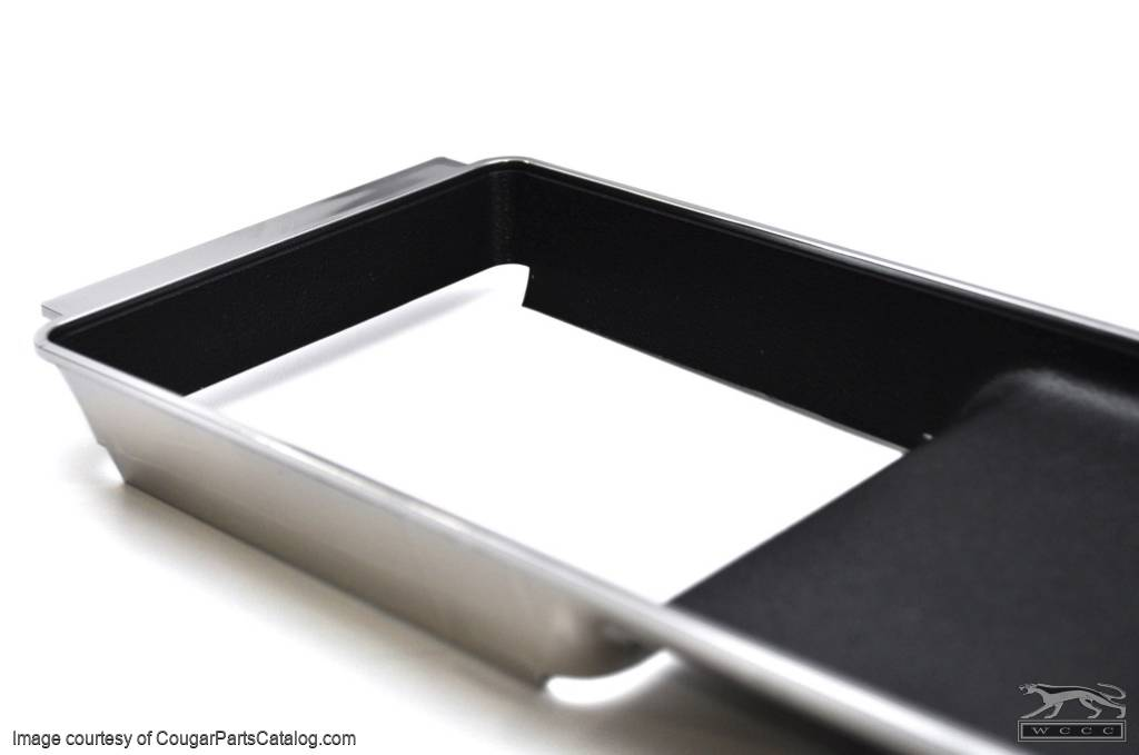 Automatic Transmission Console Insert - No Wood-Grain - Repro ~ 1970 Mercury Cougar - 1970 Ford Mustang - 13826