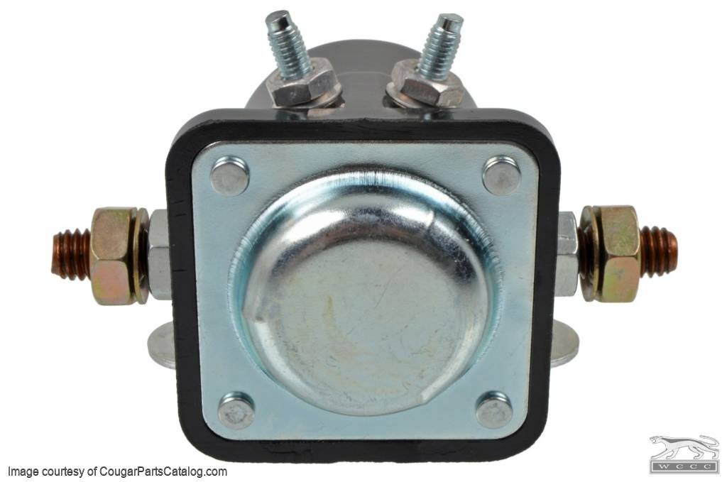 Relay - Starter Solenoid - CONCOURS CORRECT - 1967 Late+ - Repro ...