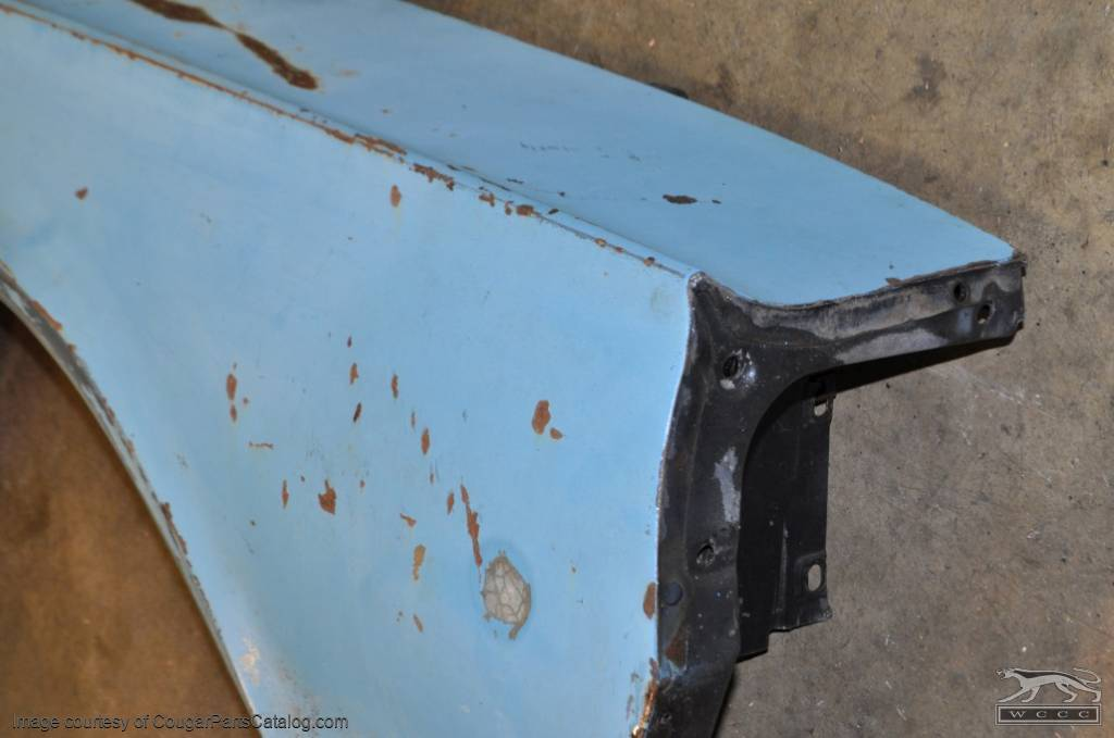 Fender - Passenger Side - Grade A - Used ~ 1967 Mercury Cougar - 14520