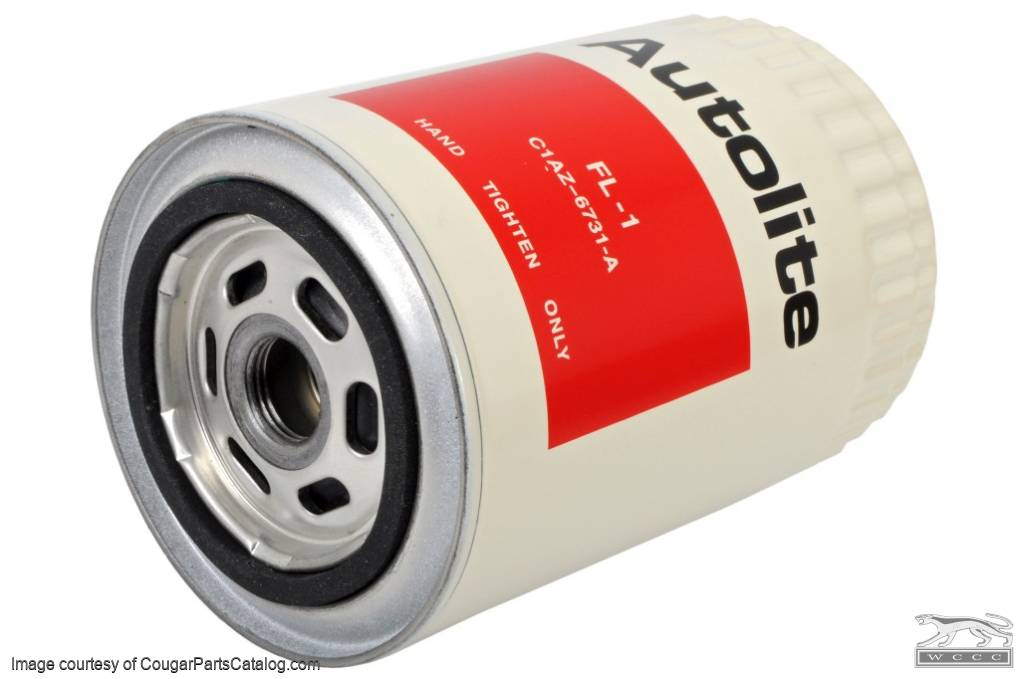 Oil Filter - Autolite - Repro ~ 1967 - 1973 Mercury Cougar / 1967 - 1973 Ford Mustang - 15281