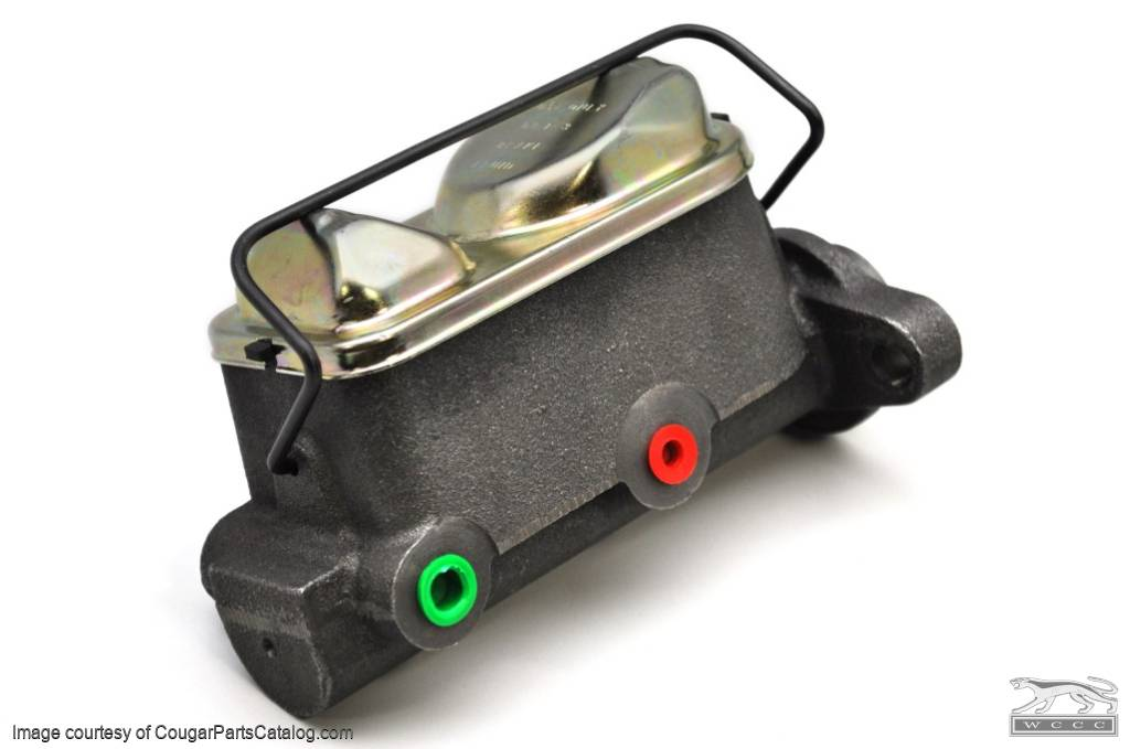 Master Cylinder - 4 Wheel Disc - Power Brakes - New ~ 1967 - 1973 Mercury Cougar / 1967 - 1973 Ford Mustang - 15301
