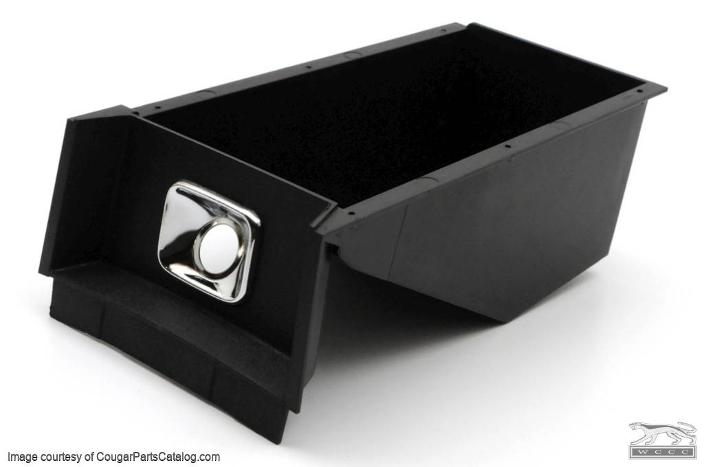 Center Console Storage Bin & Lighter Bezel - Repro ~ 1969 Mercury Cougar - 1969 Ford Mustang - 15312