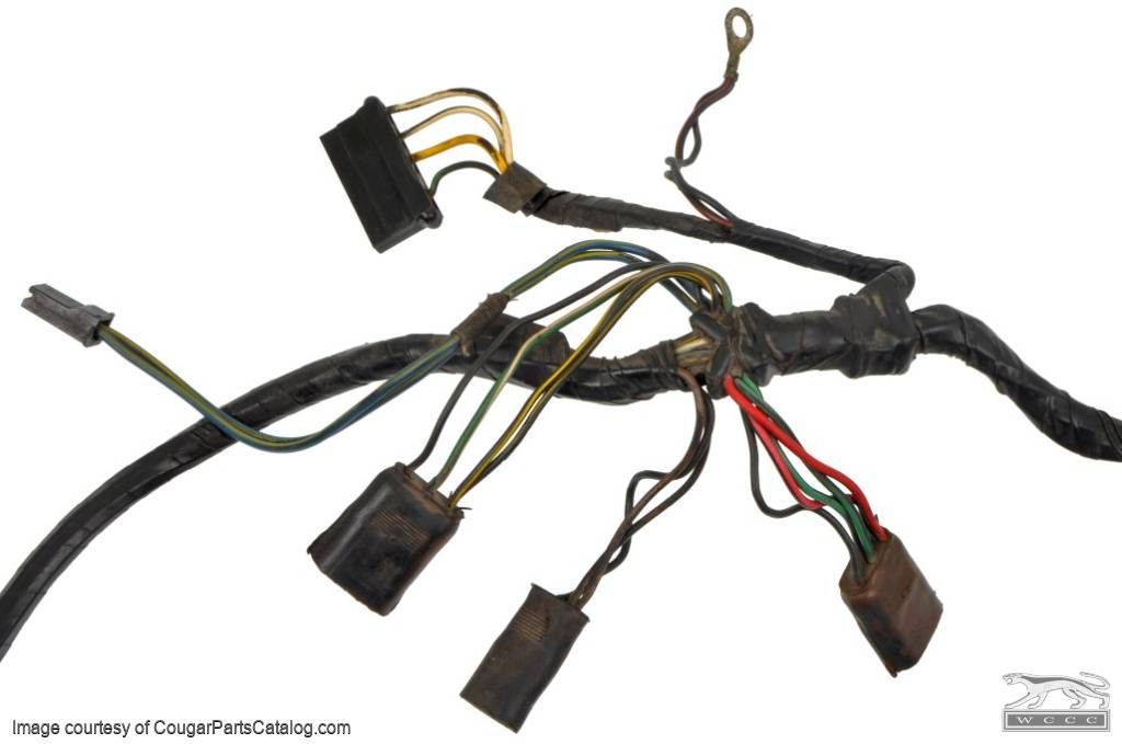 1360200736_p under hood wiring harness standard grade b used ~ 1968 cougar wiring harness at n-0.co