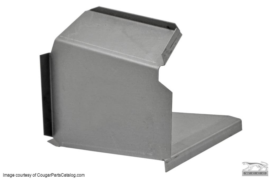 Torque Box - Outer Section - Driver Side - Repro ~ 1967 - 1970 Mercury Cougar / 1967 - 1970 Ford Mustang - 20150