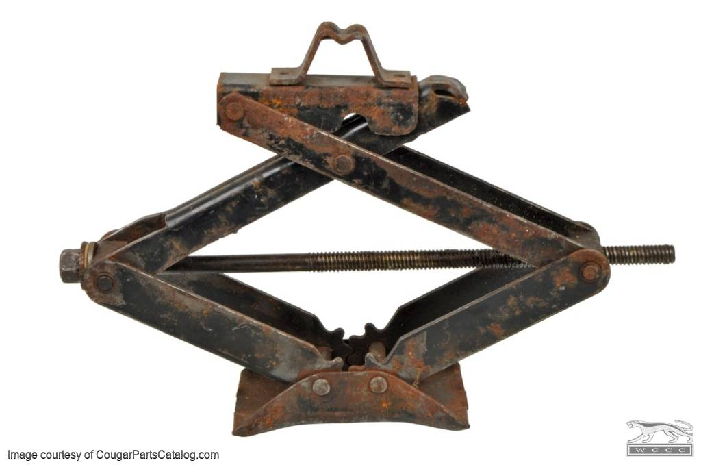 Scissor Jack - Used ~ 1967 - 1969 Mercury Cougar / 1967 - 1969 Ford Mustang - 20350