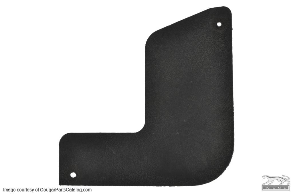 Upper Finish Panel - Rear Interior - Convertible - Passenger Side - Used ~ 1969 - 1970 Mercury Cougar / 1969 - 1970 Ford Mustang - 20692