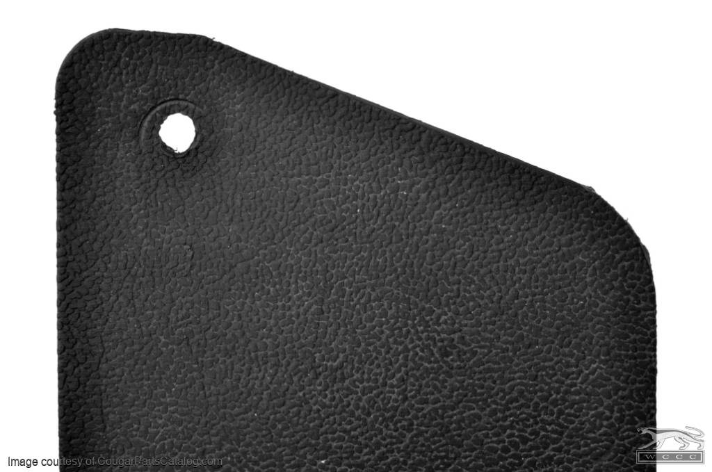 Upper Finish Panel - Rear Interior - Convertible - Driver Side - Used ~ 1969 - 1970 Mercury Cougar / 1969 - 1970 Ford Mustang - 20693