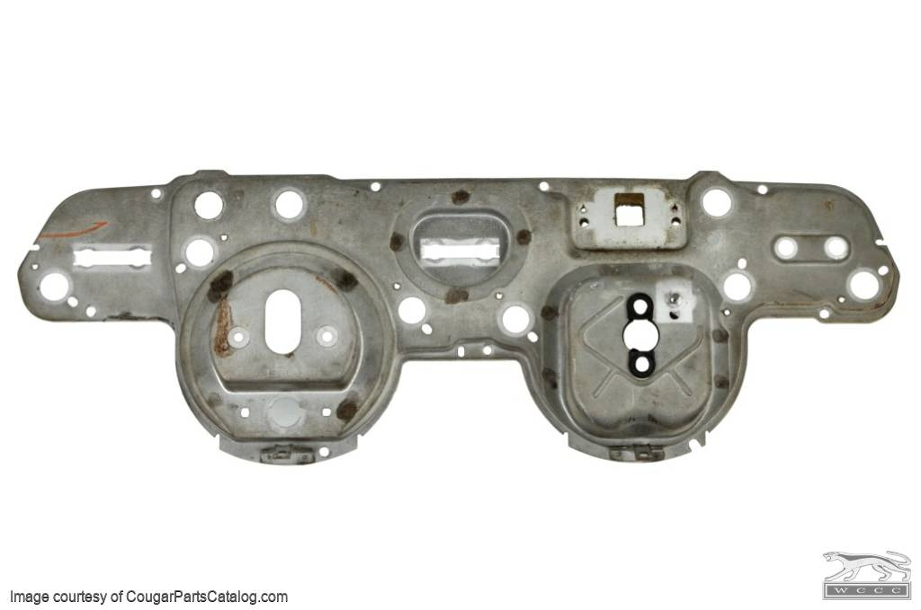 Housing - Instrument Cluster - XR7 - Used ~ 1967 - 1968 Mercury Cougar - 21-0013