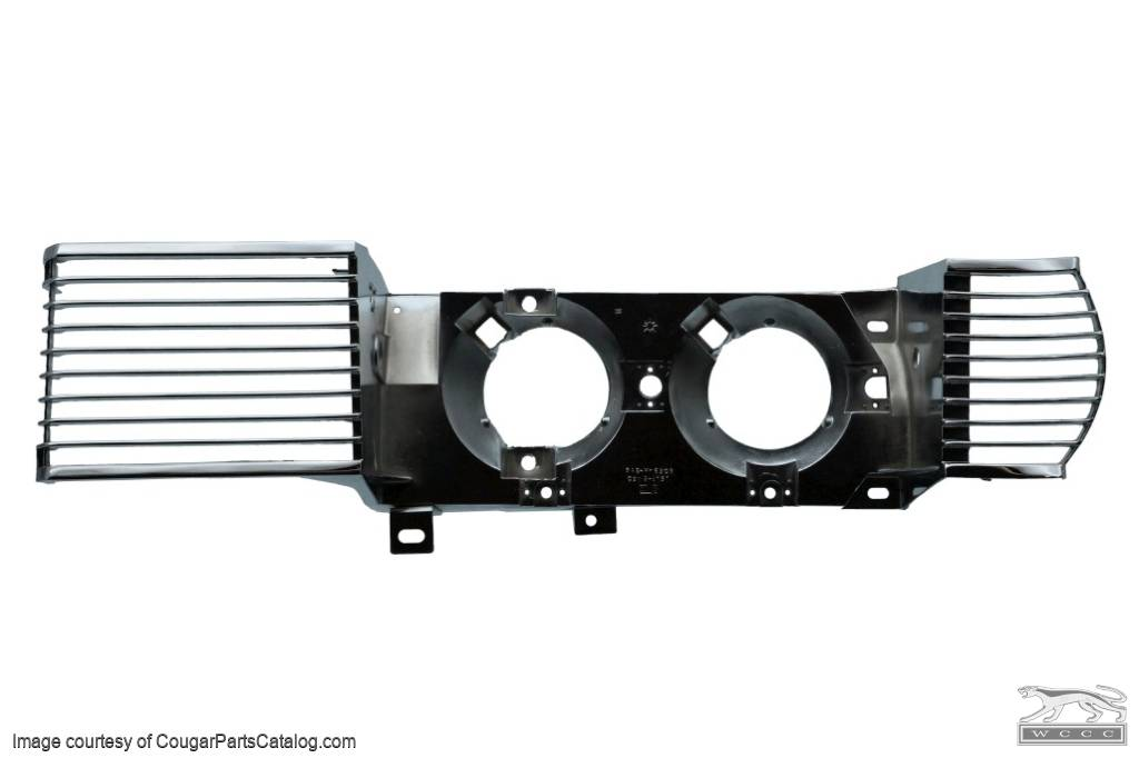 Grille - Complete - Restored ~ 1969 Mercury Cougar  - 22558