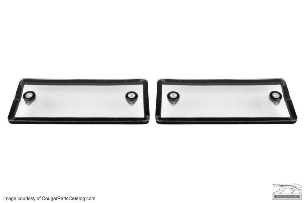 Cowl Cover Seals - New ~ 1967 - 1968  Mercury Cougar / 1967 - 1968 Ford Mustang - 23764
